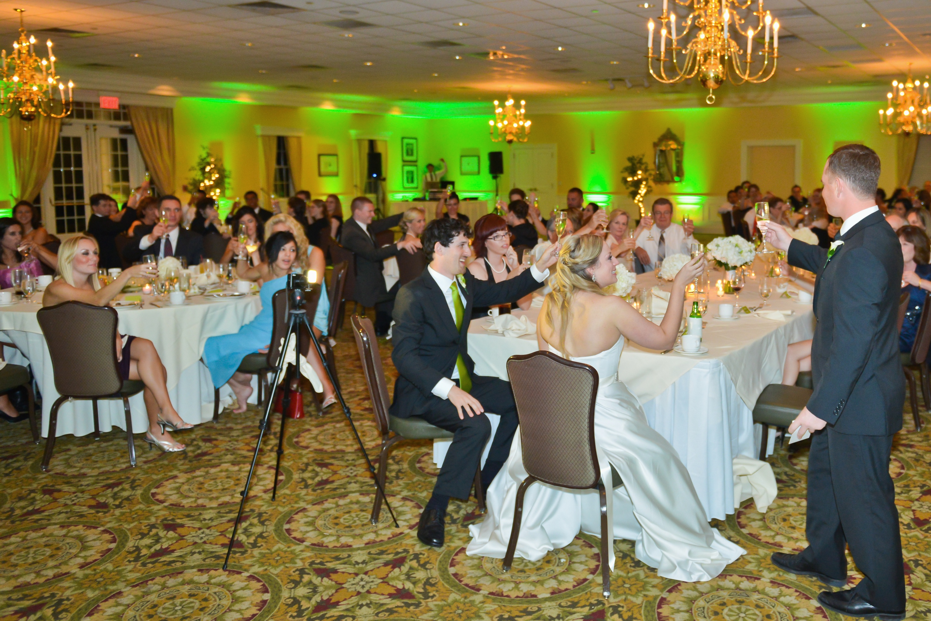 Northern Virginia Uplighting At Belmont Country Club In Ashburn By Dj Maskell
